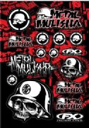 4MX Metal Mulisha sticker set